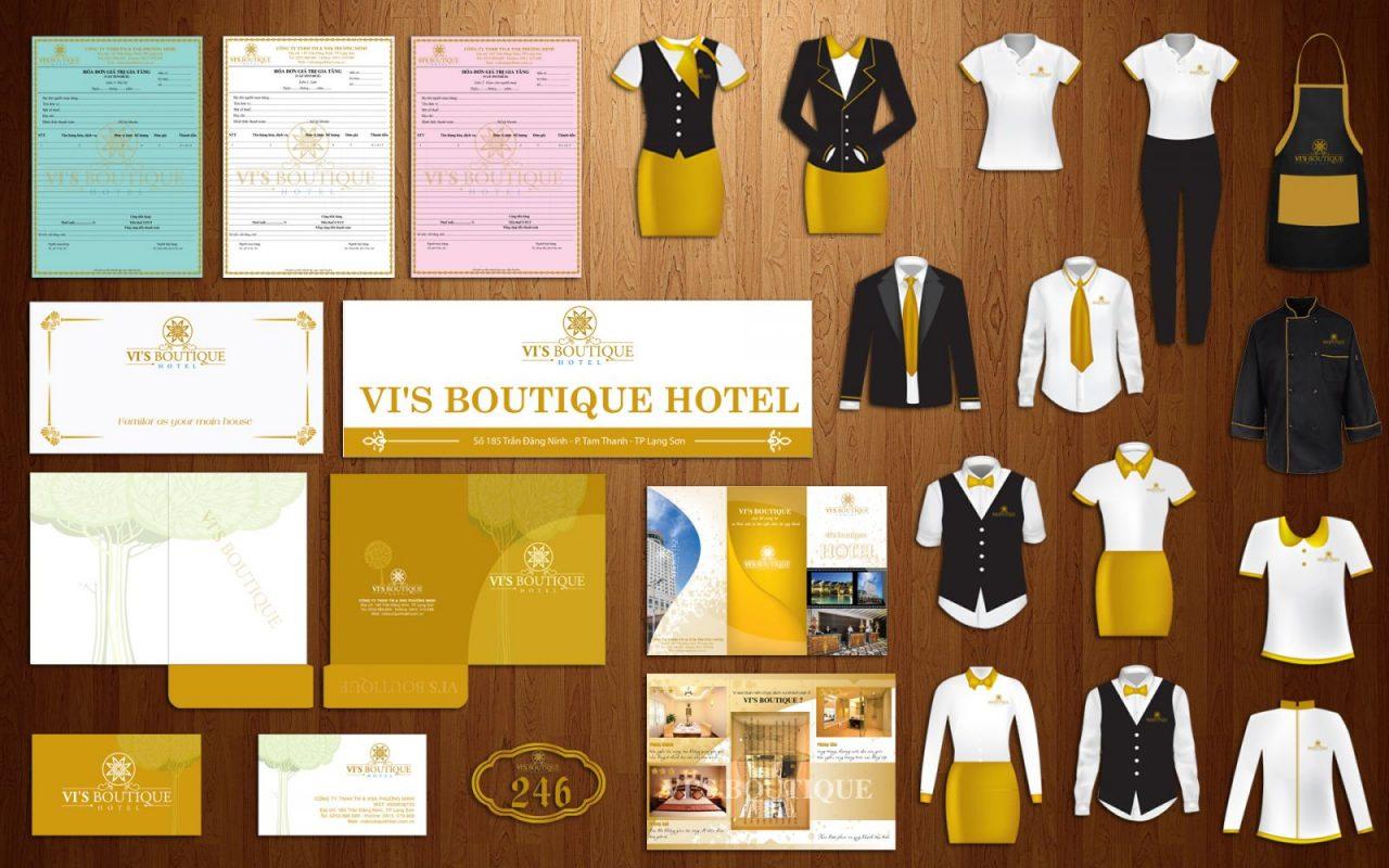 Bộ nhận diện thương hiệu khách sạn
