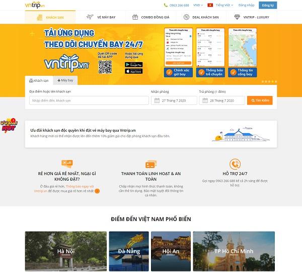 Các trang OTA Việt Nam