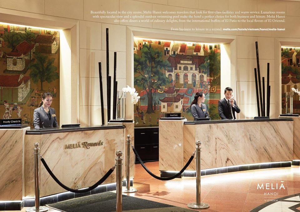 Chiến lược marketing khách sạn Melia