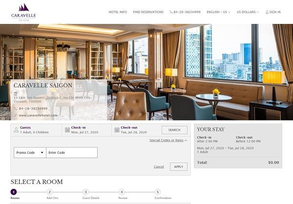 Chiến lược marketing khách sạn Caravelle