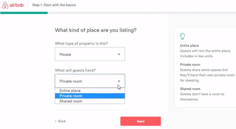 Hướng dẫn đăng ký bán hàng trên Airbnb