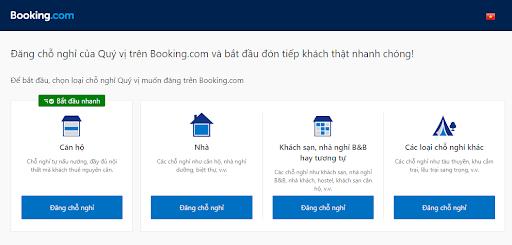 Hướng dẫn đăng ký bán phòng khách sạn