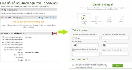 Hướng dẫn đăng ký bán phòng trên TripAdvisor